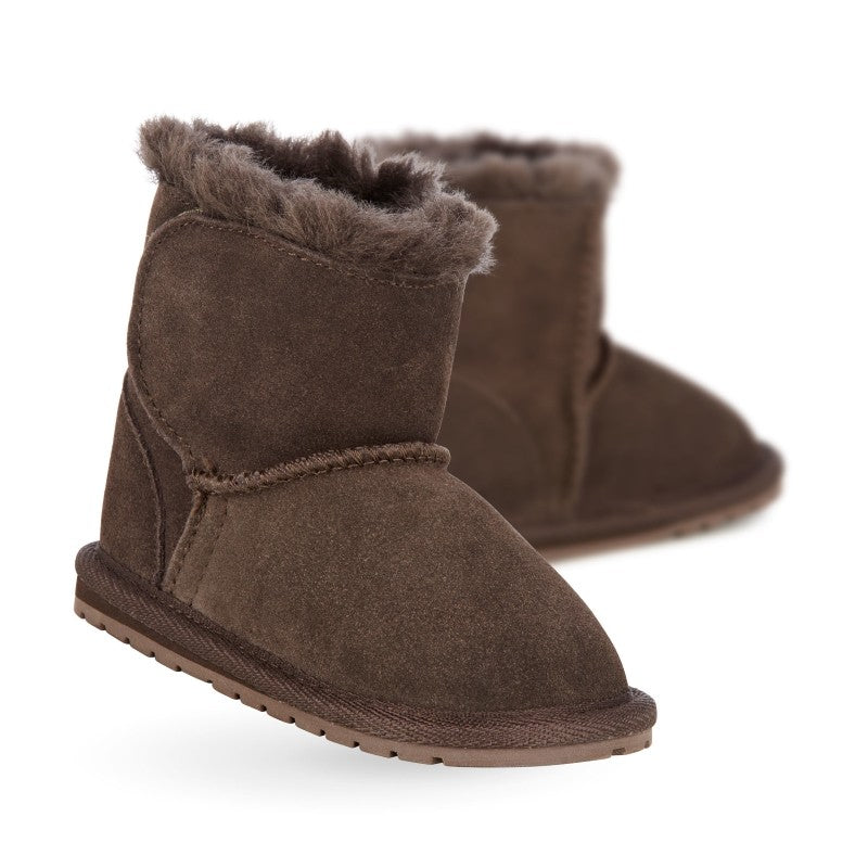 EMU - Toddlers - Chocolate Toddle Walker baby bootie Brown