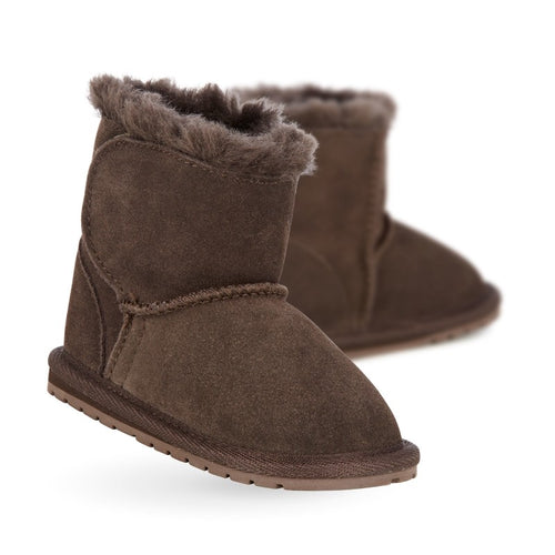 0283355baef36 EMU - Toddlers - Chocolate Toddle Walker baby bootie Brown