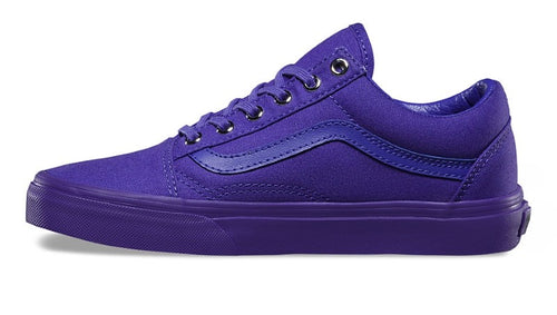 bd7ad7ea5244a1 Vans Shoes Old Skool Mono Purple - Womens Mens Unisex - Free SHIPPING