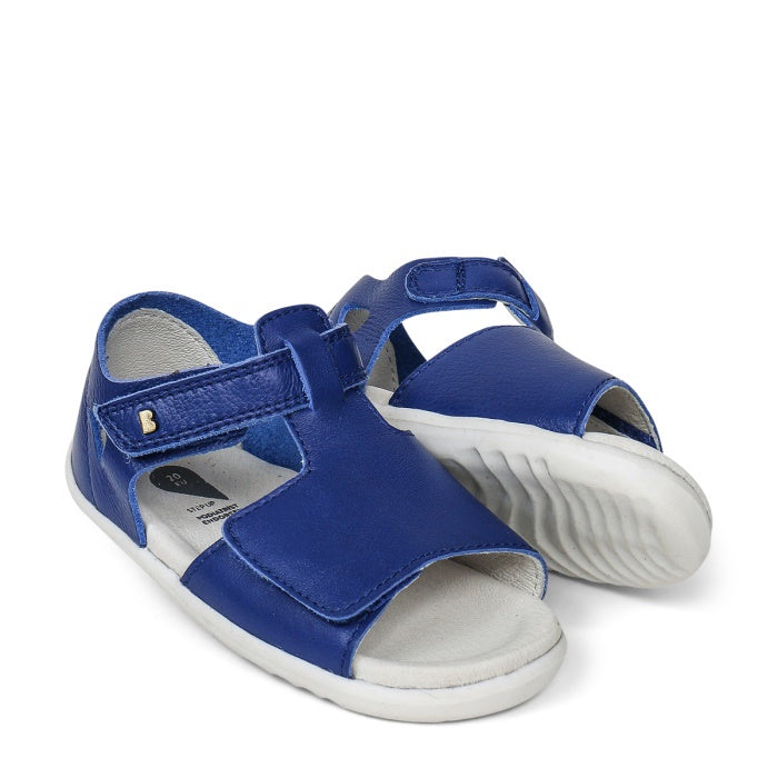 Bobux Step Up SU Mirror Blueberry Leather Sandal 727318