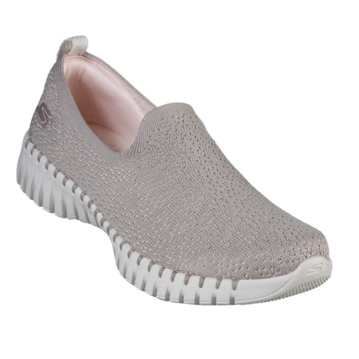 Skechers Go Walk Smart Glory Slip On Taupe 16701