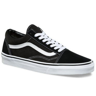 all black old skool vans on feet nz