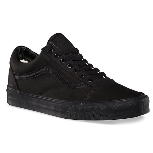 vans old skool black damen rot
