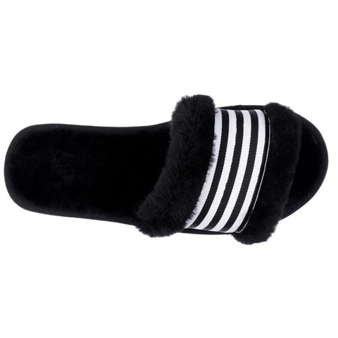 EMU Wrenlette Black Scuff Slipper