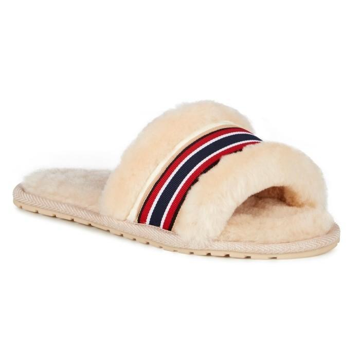 EMU Wrenlette Natural Scuff Slipper