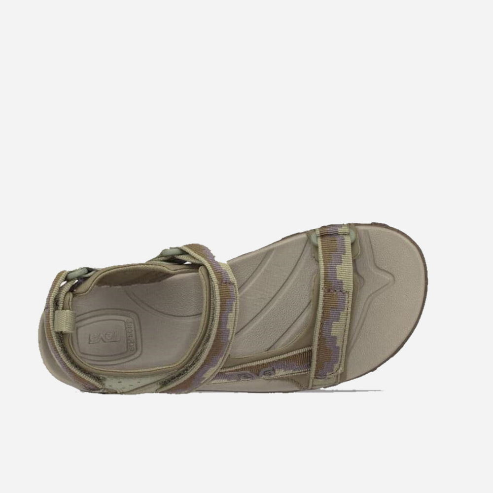 Teva K Tanza Dark Green Patter