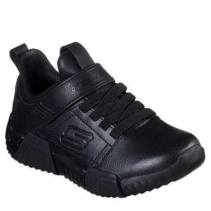 Skechers Durablox Black School Shoe