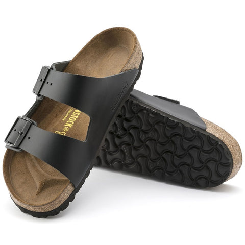 Birkenstock Arizona Smooth Leather Black Regular Width