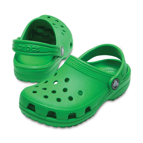 f2334fe200dd Classic Kids Crocs Clogs Grass Green - MORE on our Site – Foot ...