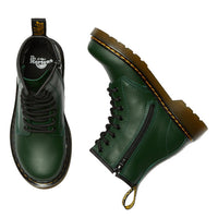 Dr Martens Kids - 1460 J Green Lace UpBboot with Zip  uk10-3  Juniors