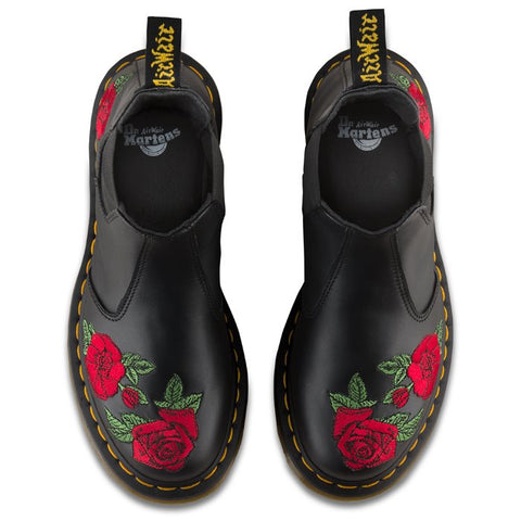 Dr Martens Cheals Boot Vonda with Red Roses