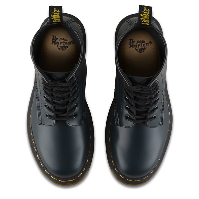 Dr Martens 1460 Navy 1460 8 Up Boot Smooth