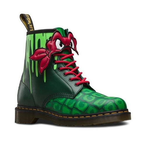 Dr Martens  - Raphael Teenage Mutant Ninja Turtle Boot sizes uk 5- 9