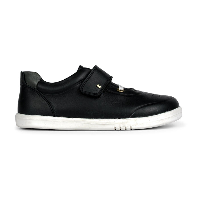 Bobux Kids + Plus Black Velcro Trainers  835611 Ryder