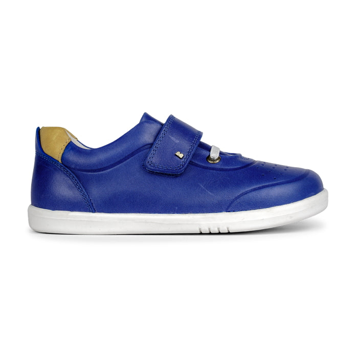 Bobux Kids + Plus Blueberry Yellow Velcro Trainers 835608