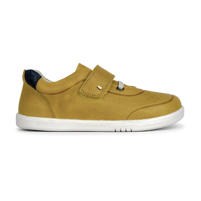 Bobux Kids + Plus Ryder Chartreuse Yellow Velcro Trainers  835603