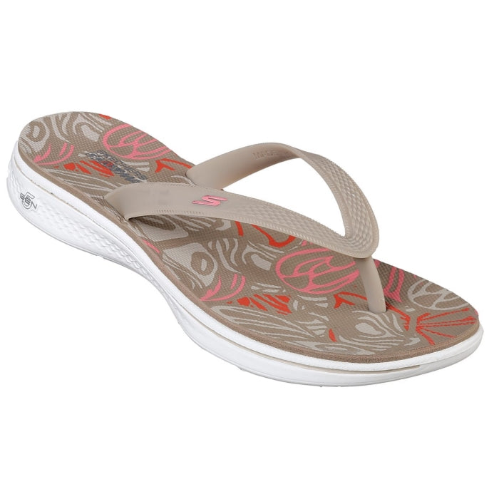 skechers jandals new season skipper in taupe also in black