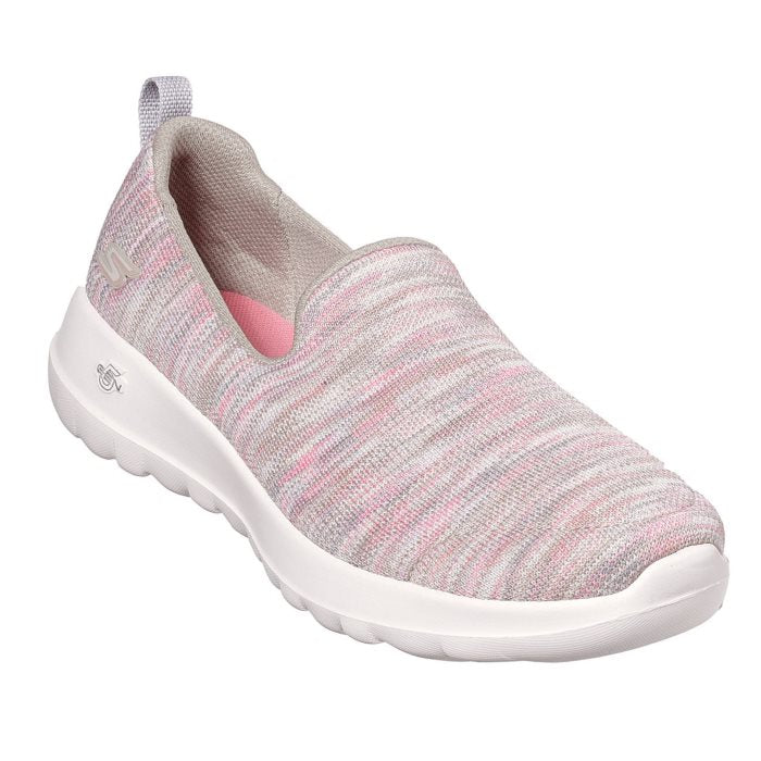 Skechers Womens Joy Terrific 15615 Taupe Coral Pink wms 7-9.5