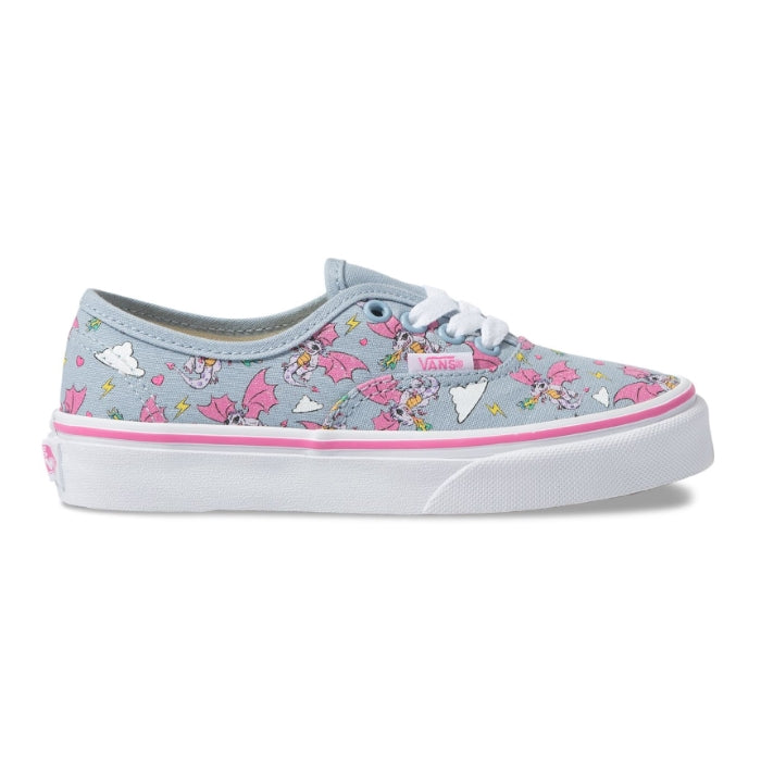 Vans Girls Rainbow Dragon Authentic Lace Up