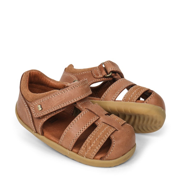 Bobux Step Up Todders Sandal Roam 729204B Caramel