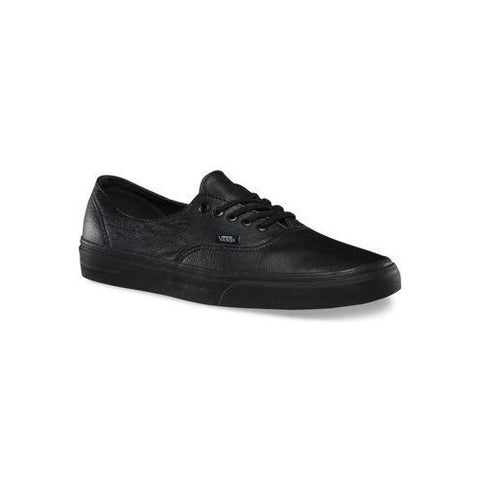 Vans - Authentic Leather Black/Black - womens mens unisex