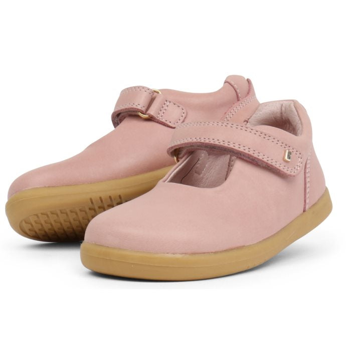 Bobux Iwalk Delight Mary Jane Blush Pink 628024