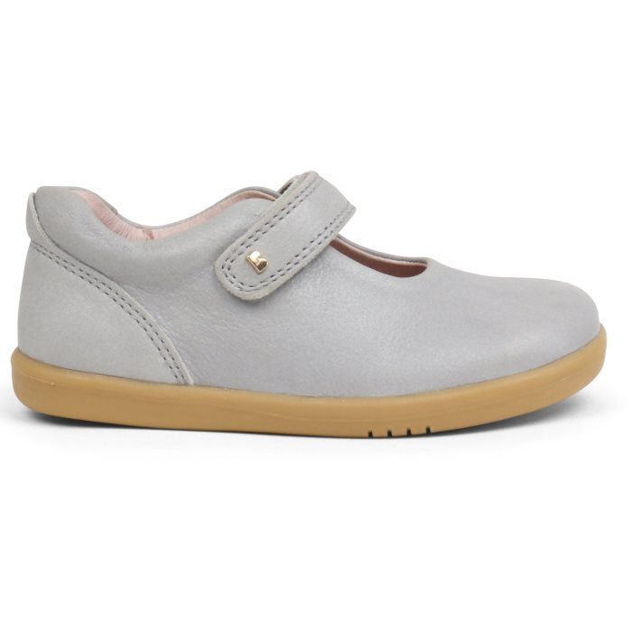 Bobux Iwalk Delight Mary Jane Silver 628025