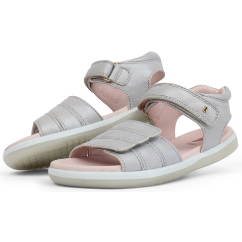 Bobux Kids+ Leather  Sandal for girls in Leather