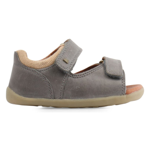 Bobux Step Up - Driftwood 728604 sizes 19-22 Charcoal Grey