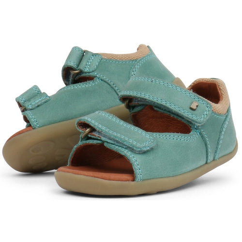 Bobux Step Up - Driftwood 728606 sizes 19-22 Teal