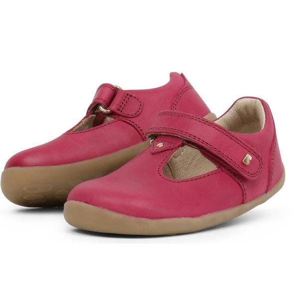 Bobux Step Up Louise Dark Pink 728303