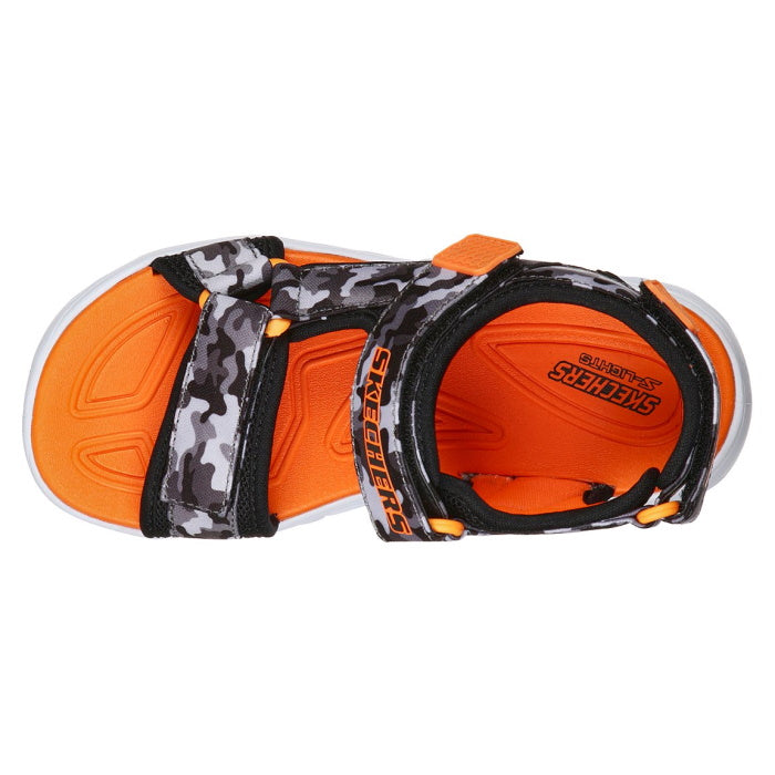 Skechers Boys Light Up Sandals Hypno Splash Sun Breaks