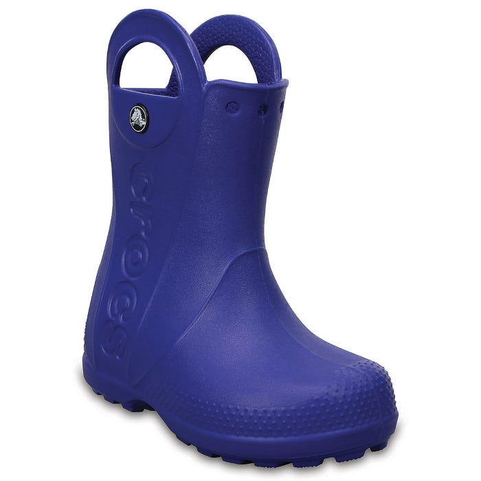 Crocs Kids - Handle It Rain Boot Cerulean Blue - Gumboots