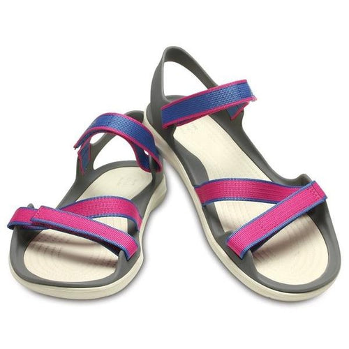 135f7a4a0f71 Womens Crocs Swiftwater Sandal Pink On Sale Freight Free – Foot ...
