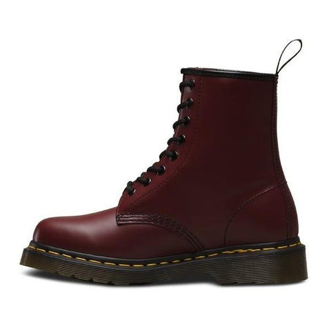 dr martens cherry red 1460 smooth leather boot