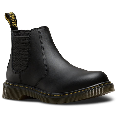 Dr Martens YOUTHS kids - Banzai  Chelsea Boot Black Leather Up to a UK5