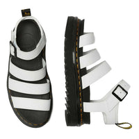 Dr Martens Blaire Hydro White Chunky Sandal