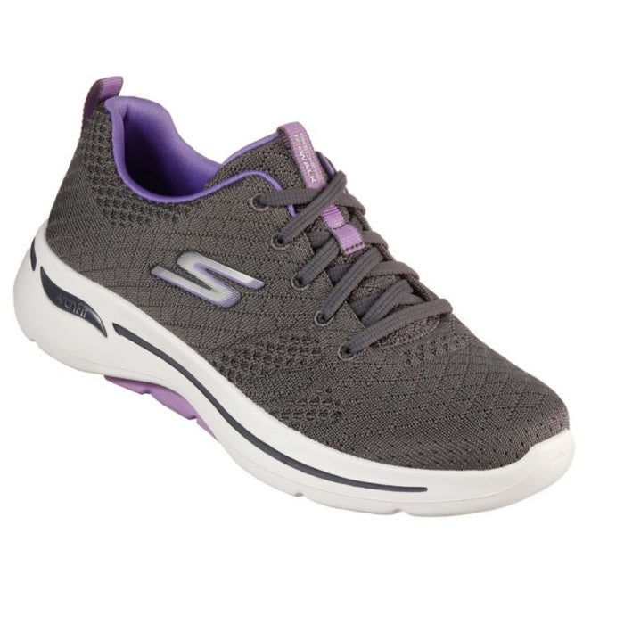 Skechers Go Walk Arch Fit Support Unify Grey Lavender