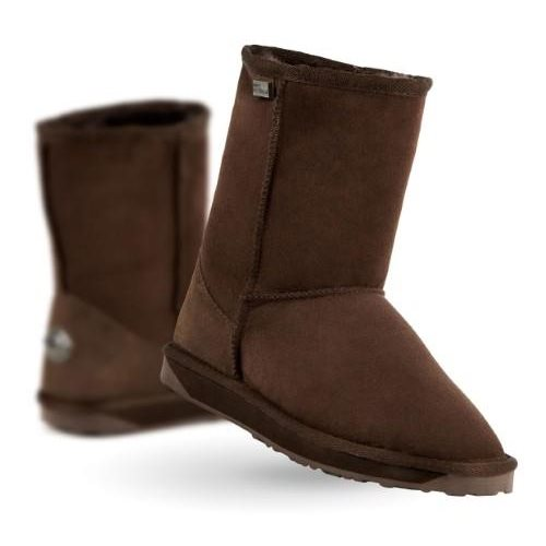 EMU - Stinger Lo - Chocolate - water resistant  sheepskin boots on sale