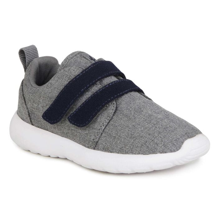 EMU - Kids  Belcher Velcro Trainer Grey Wool Fabric