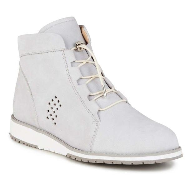 Emu - Lana Leather Dove Grey Women's Boot