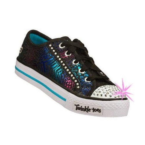Skechers  - Twinkle Toes - Light Up Shuffles Gimme Glam US 13- 4