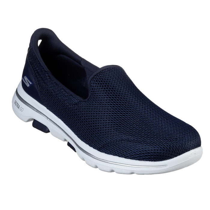 Womens Skechers - Go Walk 5 Navy Comfy Walking Shoes 15901