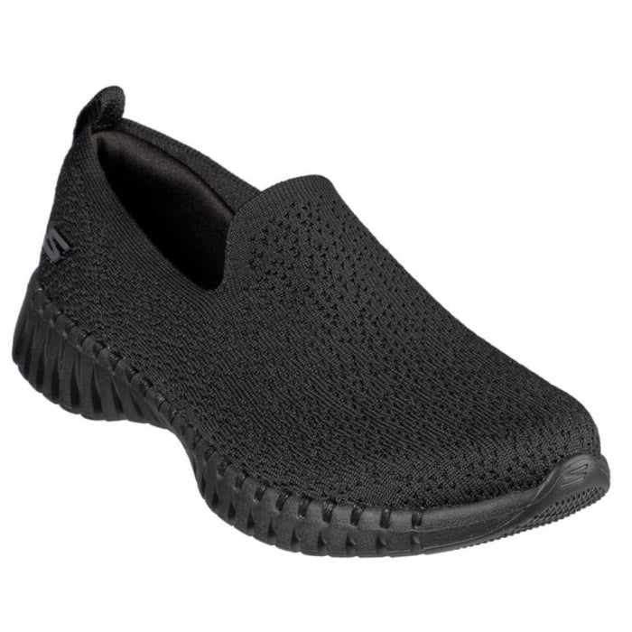 Skechers Go Walk  Smart Glory Slip On All Black