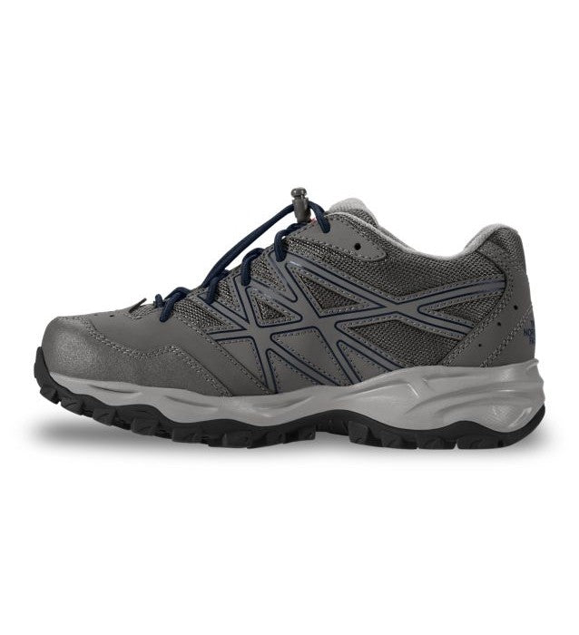 The North Face Youths HedgeHog Dark Grey Hiker Shoe