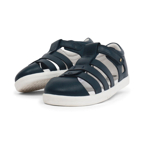 Bobux Kid + Plus Tidal Closed Toe Quick Dry Sandal Navy 834404
