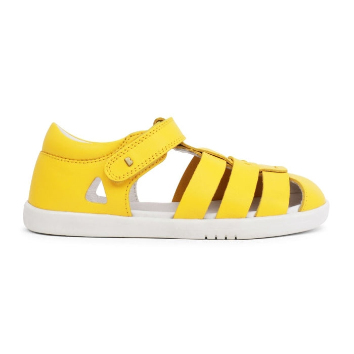 Bobux Kid + Plus Tidal Closed Toe Quick Dry Sandal Yellow 834407
