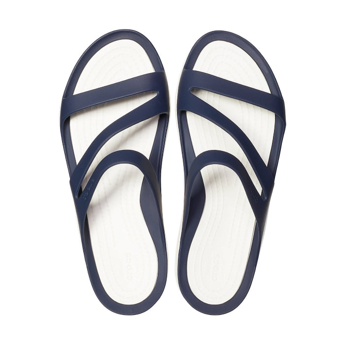 Crocs - Swiftwater Sandal Navy White Womens