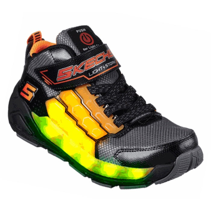 Skechers Energy Light Ups  - USB Charged -  Light Storm Mid Boot