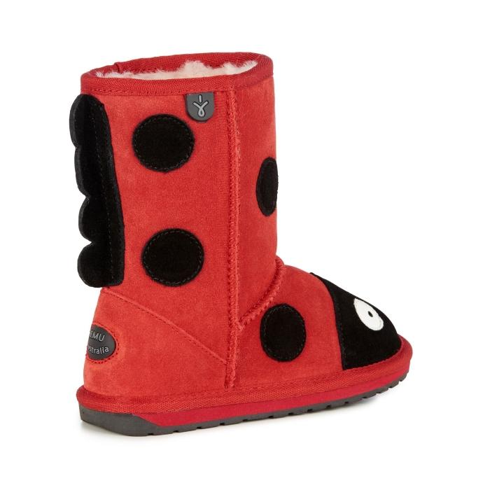 EMU - Kids Creatures Ladybird Red/Black US 8-4